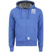 Crosshatch Men's Ravenclaw Furlined Zip Through Sweatshirt - Classic Blue