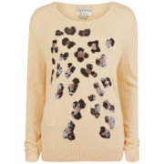 Wildfox Women's Leopard Spots Sweat - Happiness