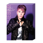 Justin Bieber Collar - 40 x 30cm Canvas