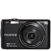 Fujifilm FinePix JX660 Digital Camera (16MP, 5x Optical Zoom, 2.7 Inch LCD) - Black