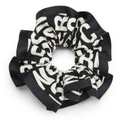 Marc by Marc Jacobs Jumbled Logo Scrunchy - Black Multi