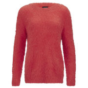 VILA Women's Viper Knitted Jumper - Red
