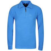 Trespass Men's Lap 1/2 Zip Fleece - Cobalt