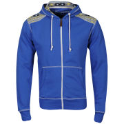 Conspiracy Men's Brett Zip Through Hoody - Royal Blue