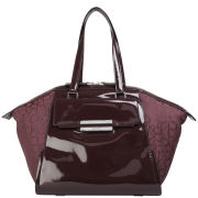 Calvin Klein Women's Jen 2 Fashion Satchel - Oxblood