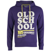 Jack and Jones Men's Carl Sweat Hoody - Parachute Purple