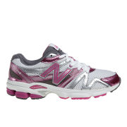 New Balance Women's W660 V3 Stability Running Shoes - White/Pink