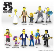 Simpsons 25th Anniversary Series 3 - Poet Milhouse Action Figure