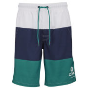 Jack & Jones Men's Tri Swim Shorts - White