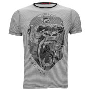 Ringspun Men's Gorilla T-Shirt - White/Black