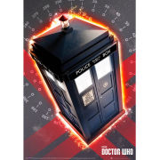 Doctor Who Tardis - Metallic Poster - 47 x 67cm