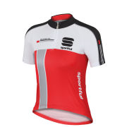Sportful Kids' Gruppetto Short Sleeve Jersey - Red