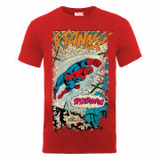 Marvel Spider-Man Ftanng Men's T-Shirt - Red