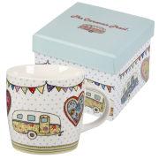 Caravan Trail Spice Mug Festival in Hatbox Gift Box - Multi