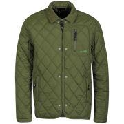 Boxfresh Men's Bacciverous Quilted Jacket - Khaki