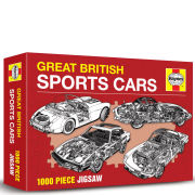 Haynes: Great British Sports Cars Jigsaw