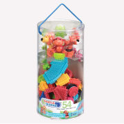 Bristle Blocks 54 Piece Jungle Adventure Tube
