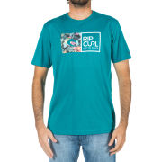 Rip Curl Men's Brash Floral Short Sleeve T-Shirt - Blue