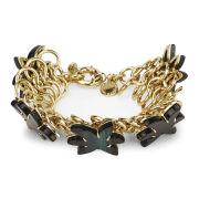 Marc by Marc Jacobs Women's Palm Bracelet - Gold/Green