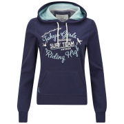 Tokyo Laundry Women's Lilly Hoody - Eclipse Blue