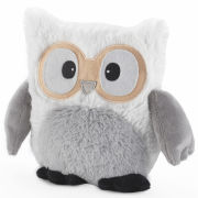Hooty Heatable Owl - White
