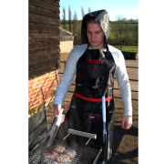 Man Apron - Black/Red