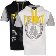 Everlast Men's 2-Pack Hooded Tops - White/Black