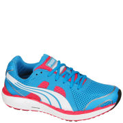 Puma Women's Faas 550 Nm Running Trainers - Blue/White/Red