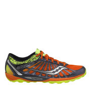 Saucony Men's Kinvara TR2 Running Shoe - Navy/Citron/Orange