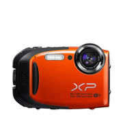 Fujifilm FinePix XP70 Tough Outdoor Digital Camera (16MP, 5x Optical Zoom) - Orange