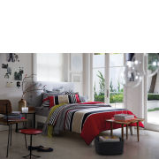 Sheridan Rafferty Standard Pillowcases - Red Stripe