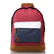 Mi- Pac Tonal  Backpack - Burgundy/White/Navy