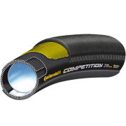 Continental Competition 22 Tubular Road Tyre Black 28in x 22mm + FREE Inner Tube