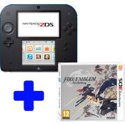 Nintendo 2DS Black & Blue Console: Bundle includes Fire Emblem: Awakening