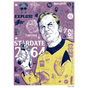 Star Trek Fine Art Print - Kirk's Heart