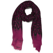 Paul's Boutique Classic Leopard Scarf - Tonal Pink