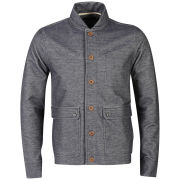 Farah 1920 Men's Hutchings Long Sleeve Cardigan - Navy