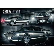 Shelby GT 500 - Metallic Poster - 47x67cm