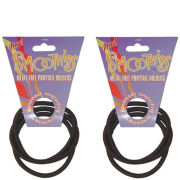 Blax Metal Free Ponytail Bands - Brown Duo