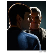 Star Trek Fine Art Print - Past and Present