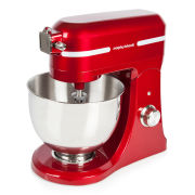 Morphy Richards Professional Diecast Stand Mixer with Guard - Red