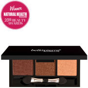 Bellapierre Cosmetics 3 Eyeshadows Palette Brown Eyed Girl