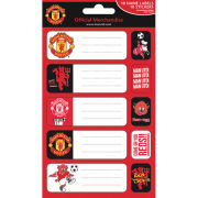Manchester United Crests (Labels) - Label Sticker Pack