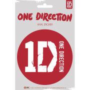 One Direction Logo - Vinyl Sticker - 10 x 15cm
