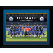Chelsea Team Poster 14/15 - Framed Photographic - 8x6