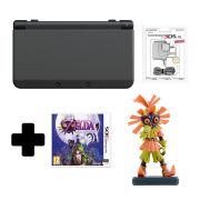 New Nintendo 3DS Black + Majoras Mask 3D Standard Edition