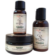 Razor MD Rx Shave-Travel kit (herbal blend)