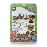 Minecraft Papercraft Over 30 Piece Set - Utility Pack