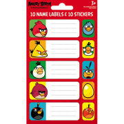 Angry Birds Birds and Pigs (Labels) - Label Sticker Pack