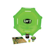 The Trash Pack Ultimate Fighting Trashies Glow Mania Battling Arena with 1 Spin Bin